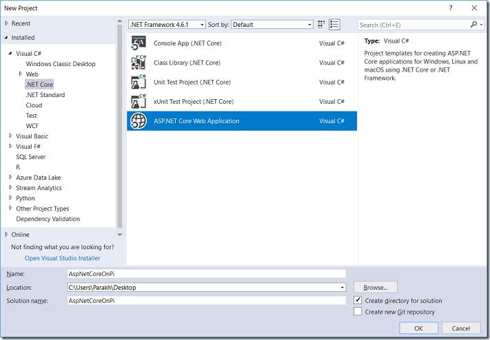 ASP.Net Core Web App