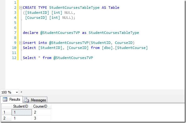 Thinkingcog Inserting Multiple Rows In Sql Server Via Table Valued
